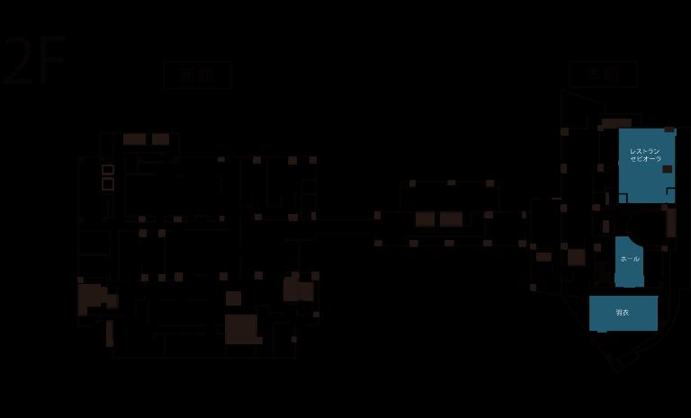 2階館内図
